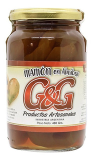Mamón En Almíbar G&g X 480grs