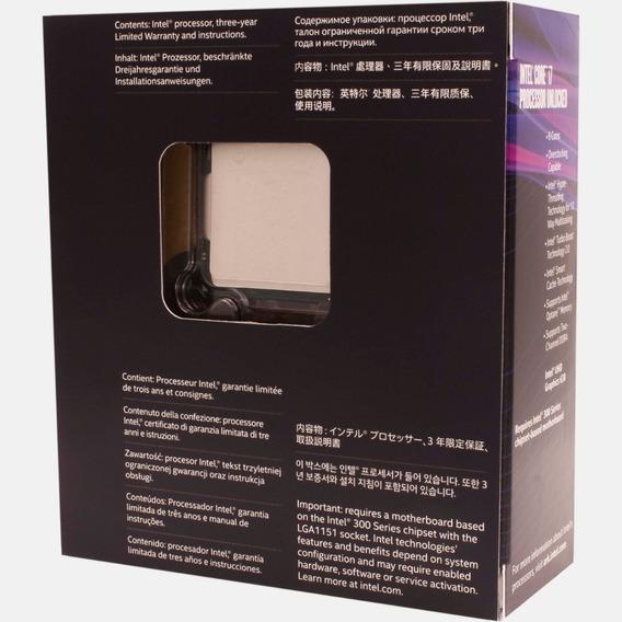 Processador Intel Core I7 8700k 4,7ghz Lga1151 8ª Geração.