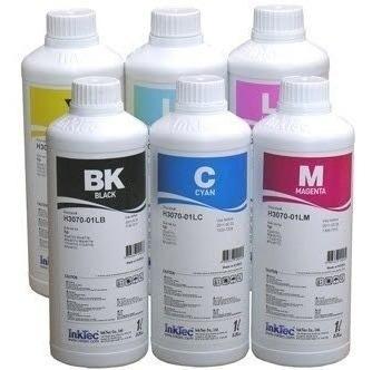 Tinta Corante Inktec Para Hp Bulk E Recarga 1litro 04 Cores