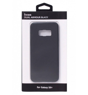 Capa Dual Armour Black Samsung S8+ Plus Ikase