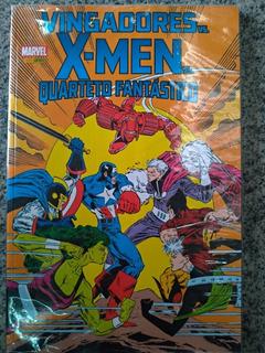 Hq Vingadores Vs X-men Vs Quarteto Fantástico Nova E Lacrada