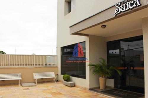 Apartamento Com 2 Dormitórios À Venda, 60 M² Por R$ 245.000 - Edifício Suíça - Conserva - Americana/sp - Ap1481
