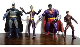 Muñecos Liga De La Justicia Batman Superman Flash Dc Comics