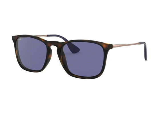 Óculos De Sol Ray Ban Rb4187 6392 (violeta, Marrom)