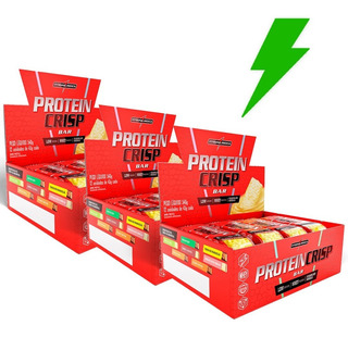 3 Protein Crisp Bar Cx 12uni. Integral Médica - Promoção