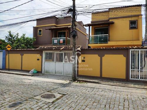 Casa Com 110 M², 3 Suítes, Sala Ampla, Acabamento De Primeira, Bem Localizada - Costazul - Rio Das Ostras - Ca0466