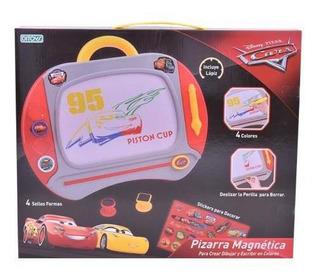 Juguete Pizarra Magica Magnetica Cars Accs Colores+cuota