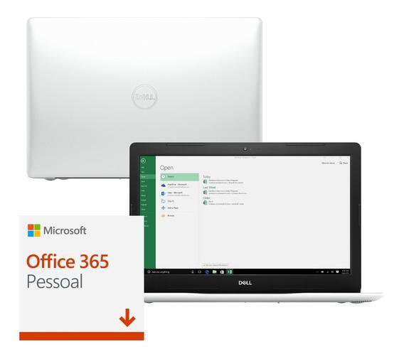 Notebook Dell 3583-m64b 15,6 Ci7 8gb 2tb Win10 Office 365