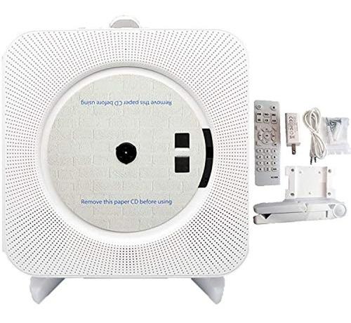 Imagen 1 de 7 de Discmans Con Bluetooth/radio Fm, Para Pared, Color Blanco
