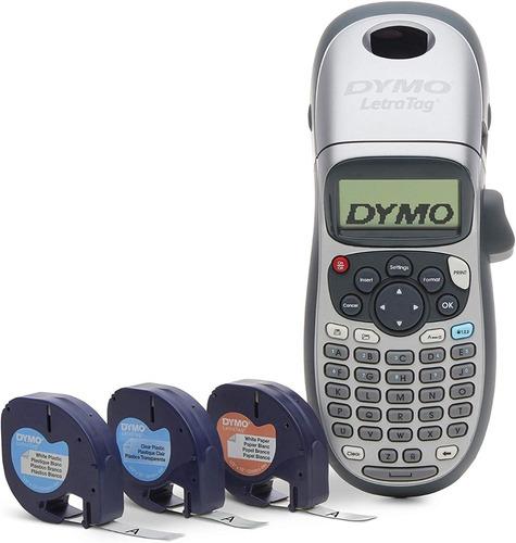 Dymo Letratag Lt-100h Plus Etiquetadora Rotuladora +3 Cintas