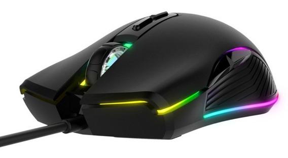 Mouse Gamer Ms877 Rgb Backlit Gaming Havit 7 Botões 2400dpi
