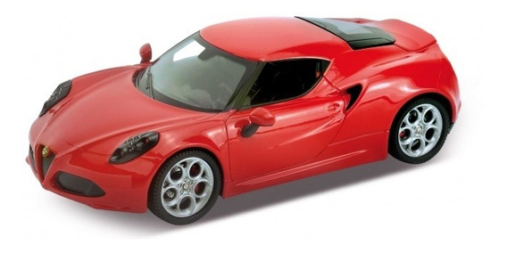 Alfa Romeo 4c 1:24 Original Welly