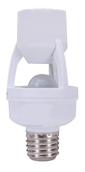 Sensor De Presença Com Bucal Para E27 Lumiere