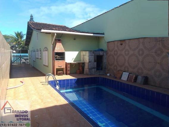 Casa Para Venda Em Mongaguá, Vila Oceanópolis - 757_1-1445339