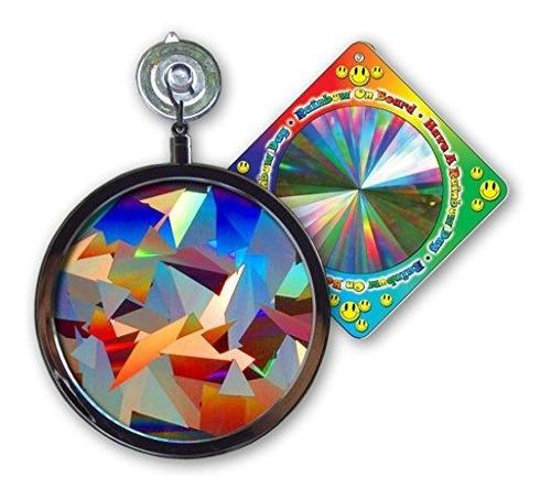 Imagen 1 de 3 de Suncatcher Crystal Rainbow Sun Catcher De Ventana Incluye Un