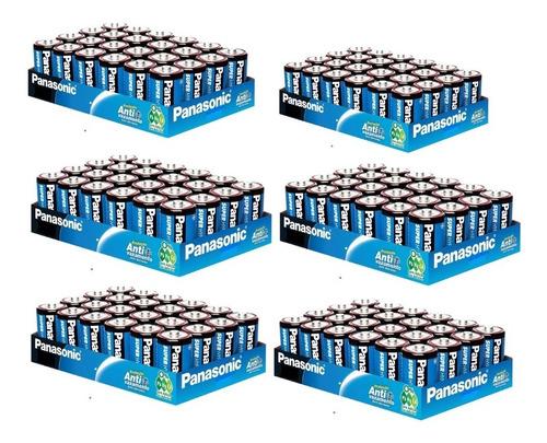 Imagem 1 de 2 de 168 Pilha Panasonic Superhyper C Media Comum 7 Bandeja C/ 24