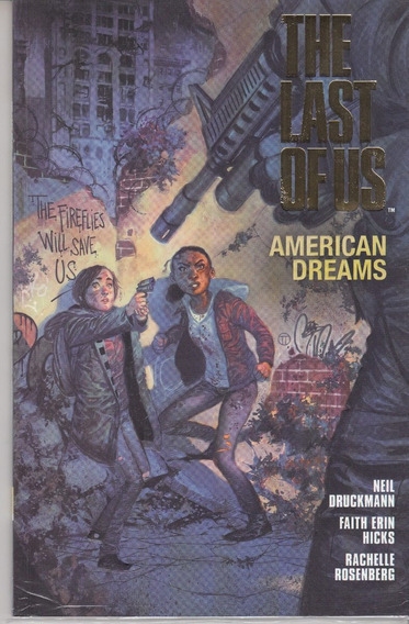 Comic The Last Of Us Edicion Especial Letras Doradas Nuevo