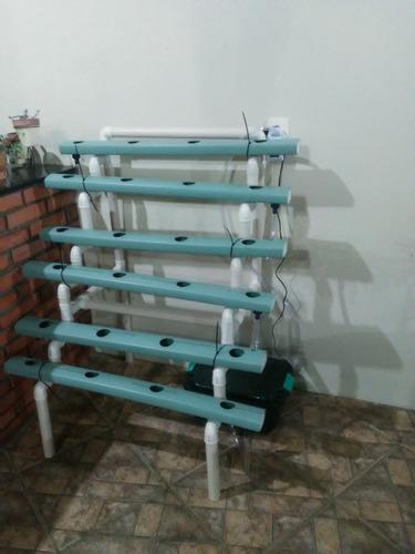 Horta Hidropônica - Kit Prod. Hortaliças