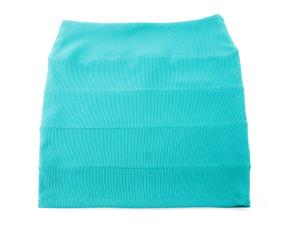 Falda Color Aqua Topshop