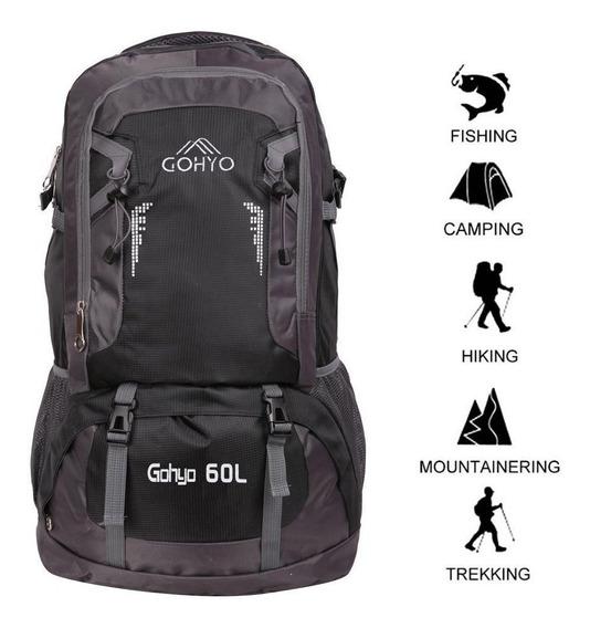 Bolsos Morral 60lt Camping Ciclismo Ligero 100% Original