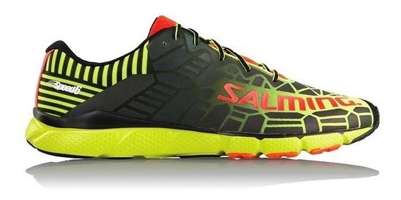 Zapatillas Salming Speed 6 Hombre Running Originales Cuotas