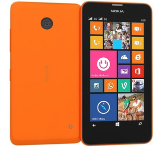 Nokia Lumia 630 Libre Fábrica Windows Wifi Usado