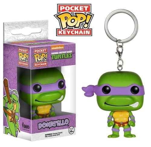 Chaveiro Tartarugas Ninja - Donatello - Pocket Pop!