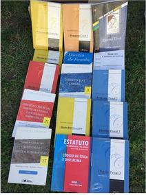 Livros Faculdade De Direito Estudos 15 Volumes Diversos