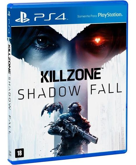 Killzone Shadow Fall Ps4 Seminovo Mídia Física Excelente