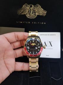 Conjunto Relógio Armani Exchange Edição Limitada Ax7007/4pn