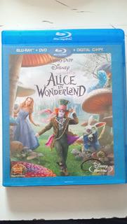 Blu-ray Alice In Wonderland Full Hd Español Con Multi Audios