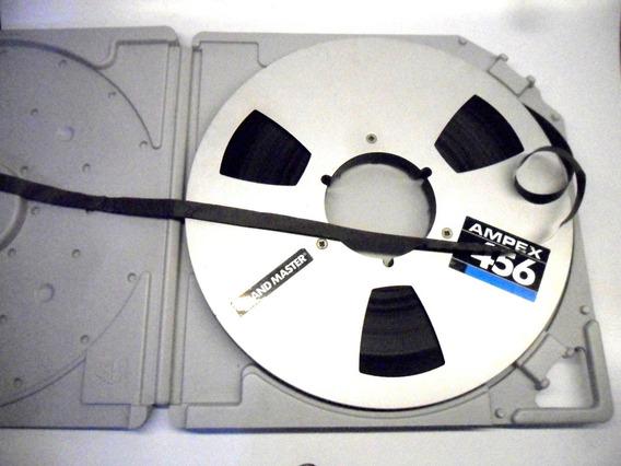 Fita Ampex 1/2 Pol Gravador De Rolo 10 Pol * Akai, Revox &