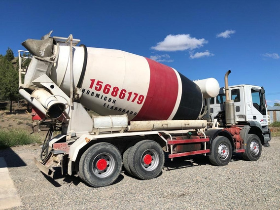 Camion Mixer Hormigonero 8x4 12 Mt3 Capacidad