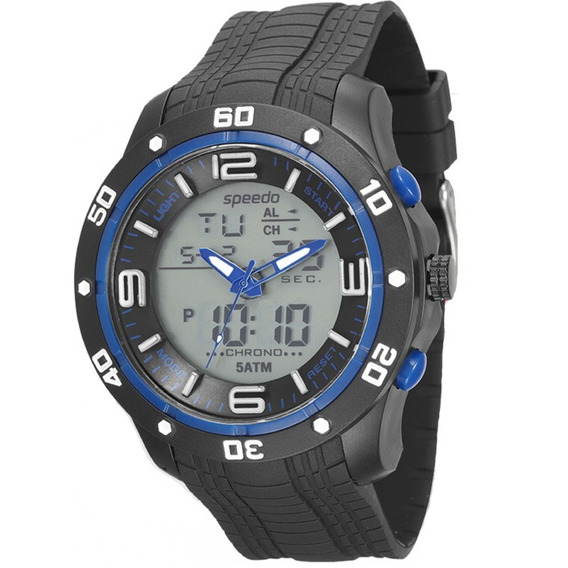 Relógio Speedo Masculino 81142g0evnp1, C/ Garantia E Nf