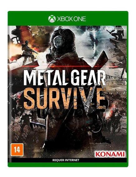 Metal Gear Survive Xbox One Mídia Física Novo Lacrado