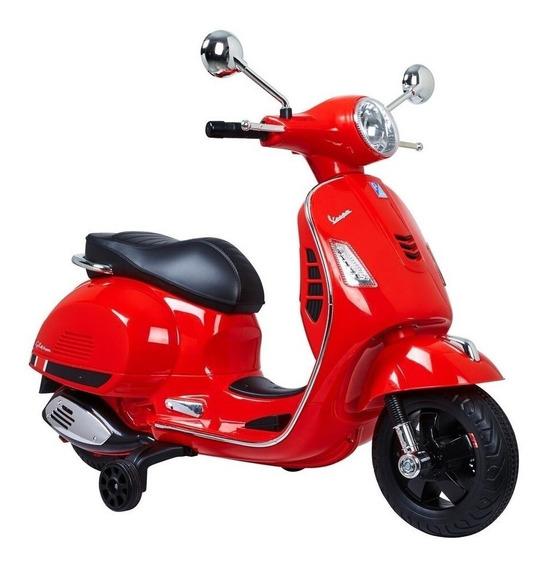 Moto A Batería Niño 2 Ruedas 40kg 12v Love 3008 Diseño Vespa