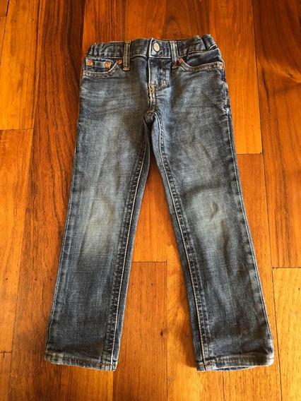 Jeans Pantalón Polo Ralph Lauren Niño 3 Años Skinny