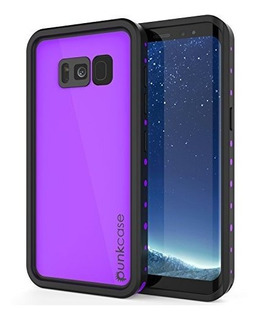 Galaxy S8 Funda Impermeable Punkcase Studstar Serie Slim Fit