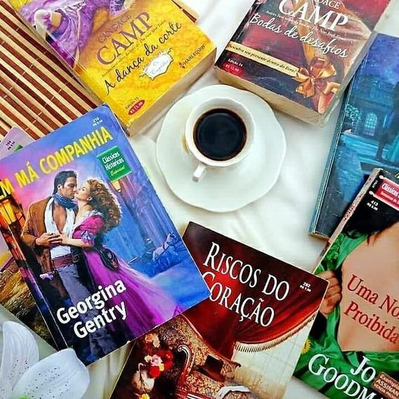 Combo Romances De Banca (harlequin) - 20 Livros R$ 98,00