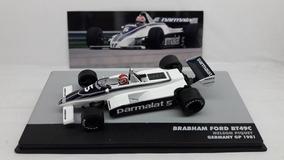 Miniatura Brabham Ford Bt49c 1981 Nélson Piquet 1/43 Lendas