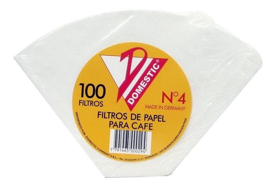 Filtros Para Cafe Domestic Nro 4 Ecofiltro Clever Cafe