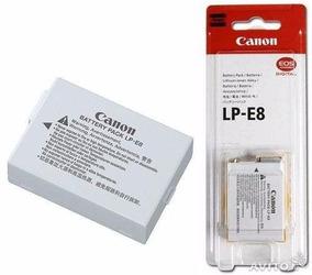 Bateria Lp-e8 Original Lp E8 T2i T3i T5i Kiss X4 X5