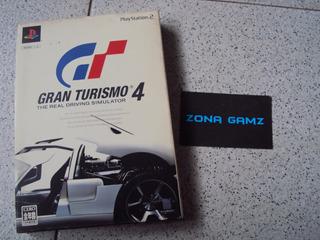 Gran Turismo 4 Limited Playstation 2 Ps2 Japon Zonagamz