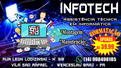 Manutenção De Desktops E Notebooks.