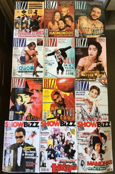 Revista Bizz 1995 (ano Completo 12 Edições) Perfeito Estado