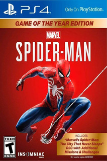 Ps4 Spiderman 3 Goty Original Fisico Nuevo Sellado