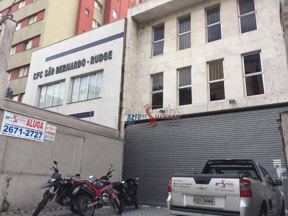 Prédio Comercial Para Venda E Locação, Rudge Ramos, São Bernardo Do Campo. - Pr0032