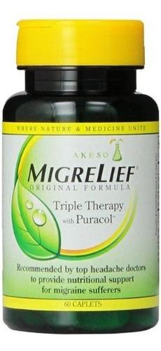 Fórmula Original Migrelief Terapia Triple Con Puracol