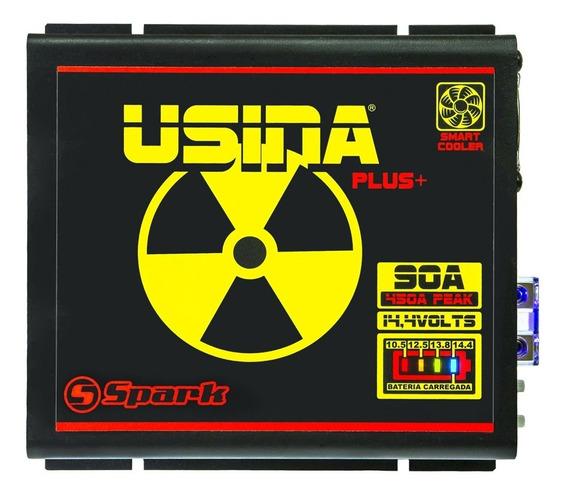 Fonte Carregador Automotivo Usina 90a Plus 12v Battery Meter
