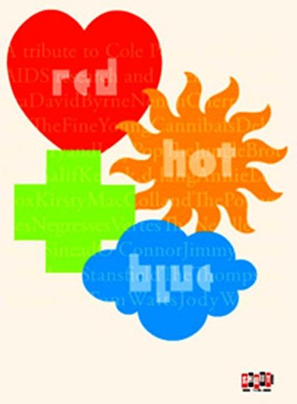 Red Hot + Blue Tributo A Cole Porter Dvd Lacrado Fabrica